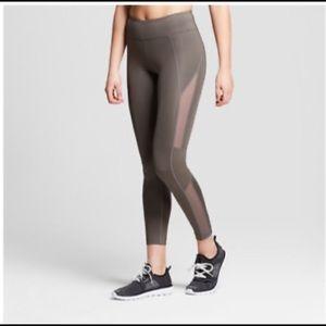 Joylab grey mesh leggings